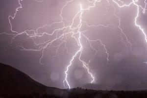 What will happen if lightning strikes my house?